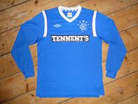 Glasgow Rangers FOOTBALL Shirt adult:L Rangers FC Soccer Jersey HOME 2011/12 L/S