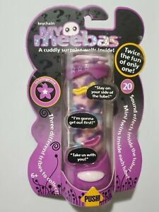"My Meebas Friendship Keychain w/ ""Talking"" Holder - Toy/Game - NEW!  FREE SHIP!!"