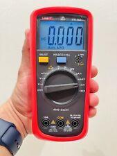 New Uni T Ut136b Handheld Digital Multimeter Auto Ac Dc 1kv 10a Ncv Cap Tester