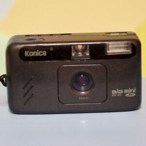 Konica Big Mini Jr Bm-20 Point And Shoot Camera & Battery! Lomo Retro Tested