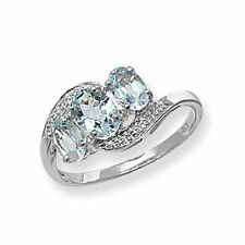 Anillos de joyería con gemas de oro blanco no aplicable