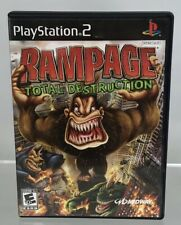 PlayStation 2 PS2 Rampage Total Destruction Case Disc Midway 2006 Game Sony Rare