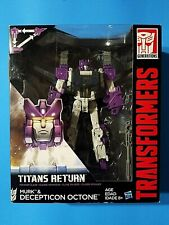 Transformers Generations Titans Return MURK & DECEPTICON  OCTONE Voyager Class