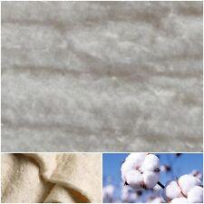 Baumwoll-Volumenvlies 100g/m² Baumwollvlies Volumenvlies Baumwolle Steppen Vlies
