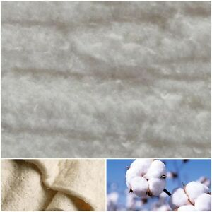 Baumwoll-Volumenvlies 200g/m² Baumwollvlies Volumenvlies Baumwolle Steppen Vlies