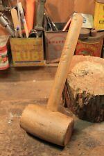 maillet outil ancien métier artisan bois menuisier collection décoration