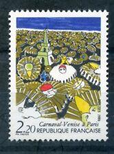 FRANCIA 1986 Venezia Carnevale TIMBRO Nuovo di zecca