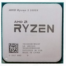 AMD Ryzen 5 2600X R5-2600X 3.6GHz 6Core 12Thr 95W Socket AM4 CPU Processor
