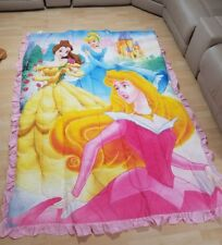 DISNEY MULTI PRINCESS  COMFORTER AND PILLOW SHAM TWIN SIZE--NEW