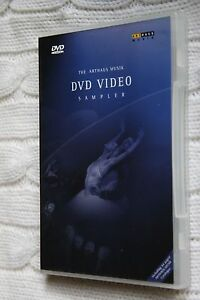 The Arthaus Musik DVD Video Sampler (DVD, with 44 paged catalogue free postage)