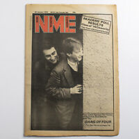 NME magazine 20 January 1979 Gang of Four cover Gary Moore Marvin Gaye