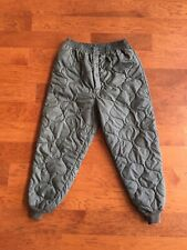 Military Insulated Pants Size Medium