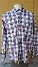 STEVEN. ALAN Men's Multi-Color Plaids Button Front Long Sleeve Shirt XL Macao