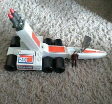 Battlestar Galactica Vintage 1978 Scarab With Missiles And Pilot