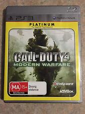 call of duty 4 modern warfare ps3 playstation 3 game