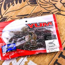 "YUM: LPT Buzzfrog (3.5"" 6ct) Soft Buzz Creature Bait | WATERMELON RED FLAKE"