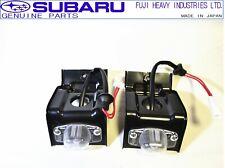 SUBARU GENUINE GC8 Impreza WRX STI Rear Licence Number Plate Lamp Light Set JDM