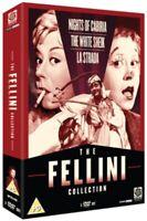 Nuovo The Fellini Collection - Notti Di Cabiria / Bianco Sceicco / La Strada DVD