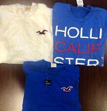 NWT Mens Small SM S Hollister Abercrombie Lot 3 Long Sleeve Shirt  Worldwide