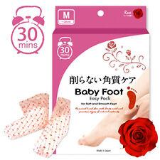 [BABY FOOT] Japan Easy Pack Deep Skin Exfoliation Foot Mask Rose Scent M -26cm