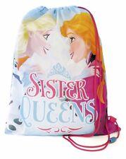 Disney Frozen Sister Queens School Drawstring Gym Trainer, Swim School Bag Gift