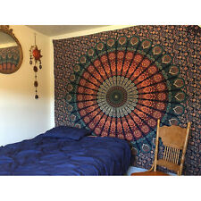 Cotton Boho Wall Hanging Tapestry Mandala Bedspread Hippie Indian Decor Blanket