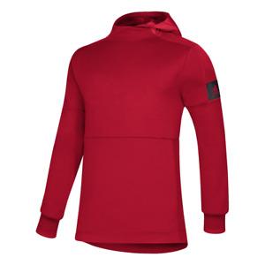 adidas Game Mode Red Pullover Performance Hooded Sweatshirt Men's XL Hoodie