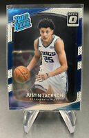 Justin Jackson 158 2017-18 Donruss Optic Rated Rookie RC