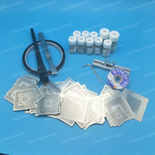 Latest 810pcs BGA Directly Heat Reball Rework Stencil Station Kit w/ Solder Ball