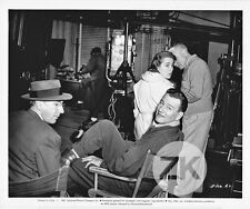 JANET LEIGH J. von Sternberg JOHN WAYNE RKO JET PILOT Tournage Photo 1957