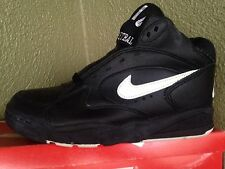 Vintage 1992 Nike Air Driving Force II 3/4 Sz. 6.5 Black/White DS Pippen