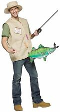 Adult Costume Funny Catch of the Day Fisherman Halloween Theater Fancy Dress Up
