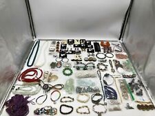 Bracelets - Necklaces - Earrings 5 lbs Costume Jewelry Pendants -