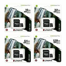 Kingston Micro SD Memory Card 16GB 32GB 64GB 128GB Class 10 Samsung Canon Nikon