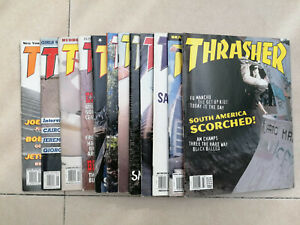 Thrasher Magazine, 12 issues March 1998 - Feb 1999, *** MINT conditions***