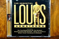 Louis Armstrong - The Essential   -  CD, VG