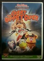 The Great Muppet Caper (DVD, 2005, 50th Anniversary Edition) Factory sealed