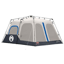 Instant Tent Coleman Spacious 8 Person Blue 14 x 10 Feet With Weather Tec System