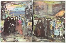 La Peste. CAMUS Illustr. EDY-LEGRAND. Imprimerie Nationale-Sauret 1962 2 volumes