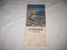 Ancien Plan de la ville de CANNES