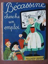 BECASSINE CHERCHE UN EMPLOI  (1951)