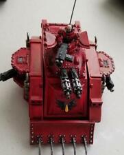 GW 40k Blood Angel Space Marine Baal Predator Metal & Plastic Old School Painted