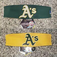 Oakland Athletics A's Reversible Spandex Cooling Headband