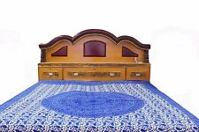 New Cotton DoubleSuper King Size Bed Sheet tapestry Pillow also