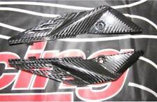 Für Aprilia SL 750 Shiver ABS Carbon Auspuff Abdeckung NEU