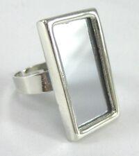 One Dozen New & Very Unique Mirror (Spy) Rings #R1181-12