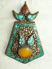 Nepal - tibetan art handmade pendant / colgante tibetano / Anhänger / ciondolo