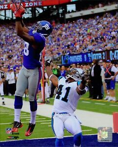 Hakeem Nicks New York Giants Licensed NFL Unsigned Glossy 8x10 Photo B