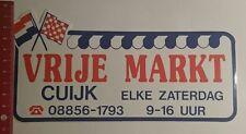 Aufkleber/Sticker: Vrije Markt Cuijk (180117141)