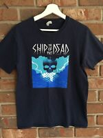 SHIP OF THE DEAD Magnus Chase 2017 Book Tour T-SHIRT Youth XL Rick Riordan EUC